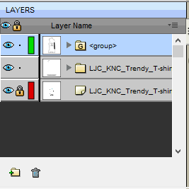 56 Layers after grouping