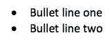 bullet-line-example