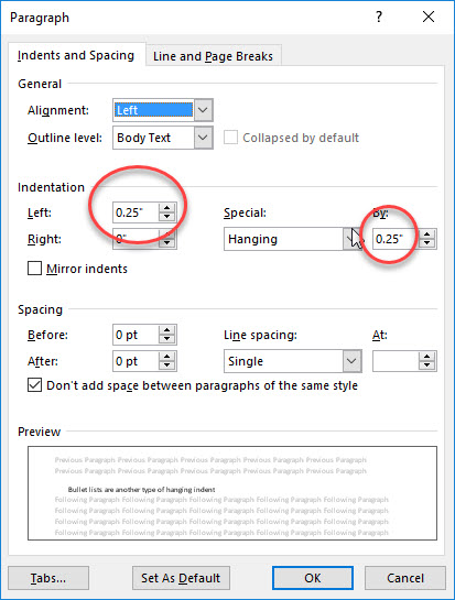 Paragraph settings for standard hanging indent.jpg